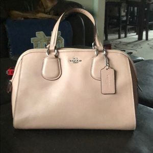 Authentic Light Pink Coach Handbag
